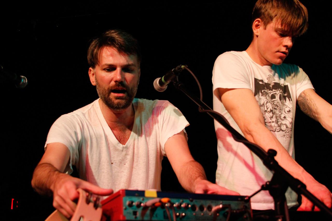 Porcelain Raft performs at Black Cat in Washington, DC on Feb. 1, 2012.