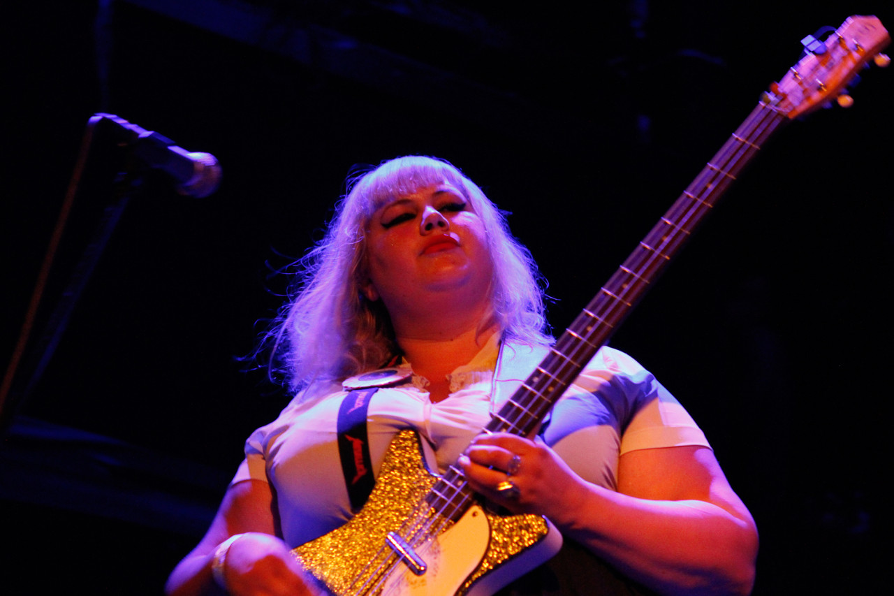 Shannon And The Clams plays at Bowery Ballroom in New York, NY on June 20, 2013.