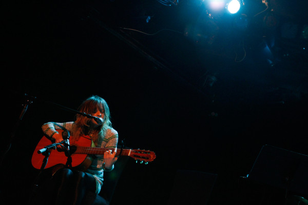 Jessica Pratt plays at (le) Poisson Rouge in New York, NY on July 12, 2013.