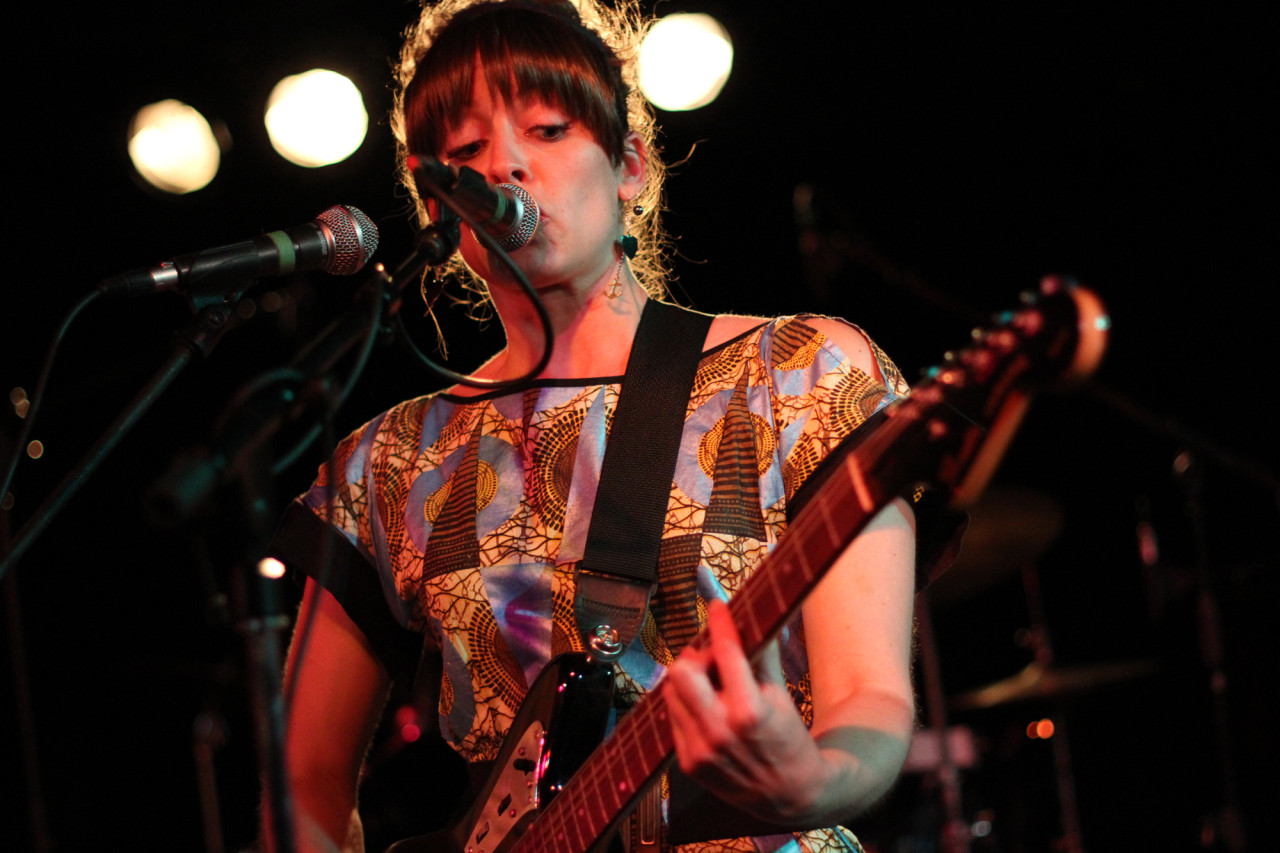 Little Scream performs at Black Cat in Washington, D.C. on May 17, 2011.