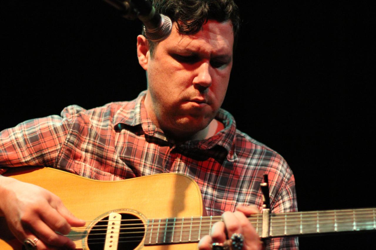 Damien Jurado performs at Black Cat Backstage in Washington, D.C. on May 18, 2011.