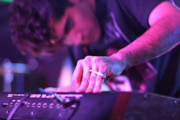Neon Indian performs at Rock and Roll Hotel in Washington, D.C. on Sept. 15, 2011.