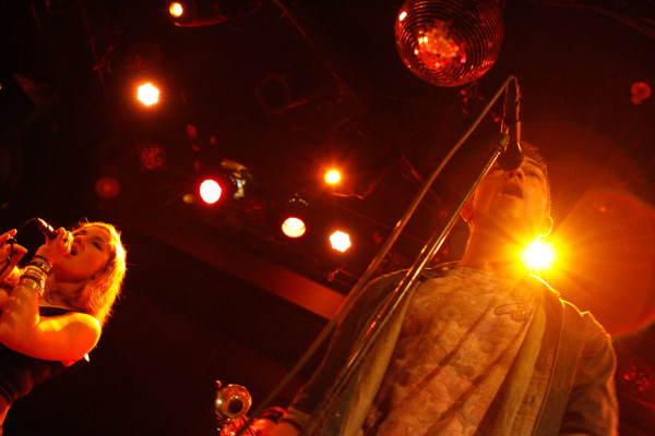 San Fermin plays at Bowery Ballroom in New York, NY on Feb. 7, 2014.