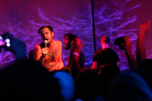 Ceremony plays at Brooklyn Night Bazaar in Williamsburg, Brooklyn NY on July 18, 2014.