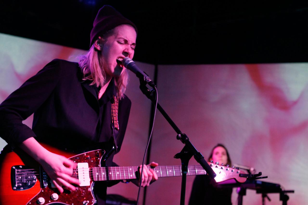 Torres plays at Brooklyn Night Bazaar in Williamsburg, Brooklyn NY on January 30, 2015.