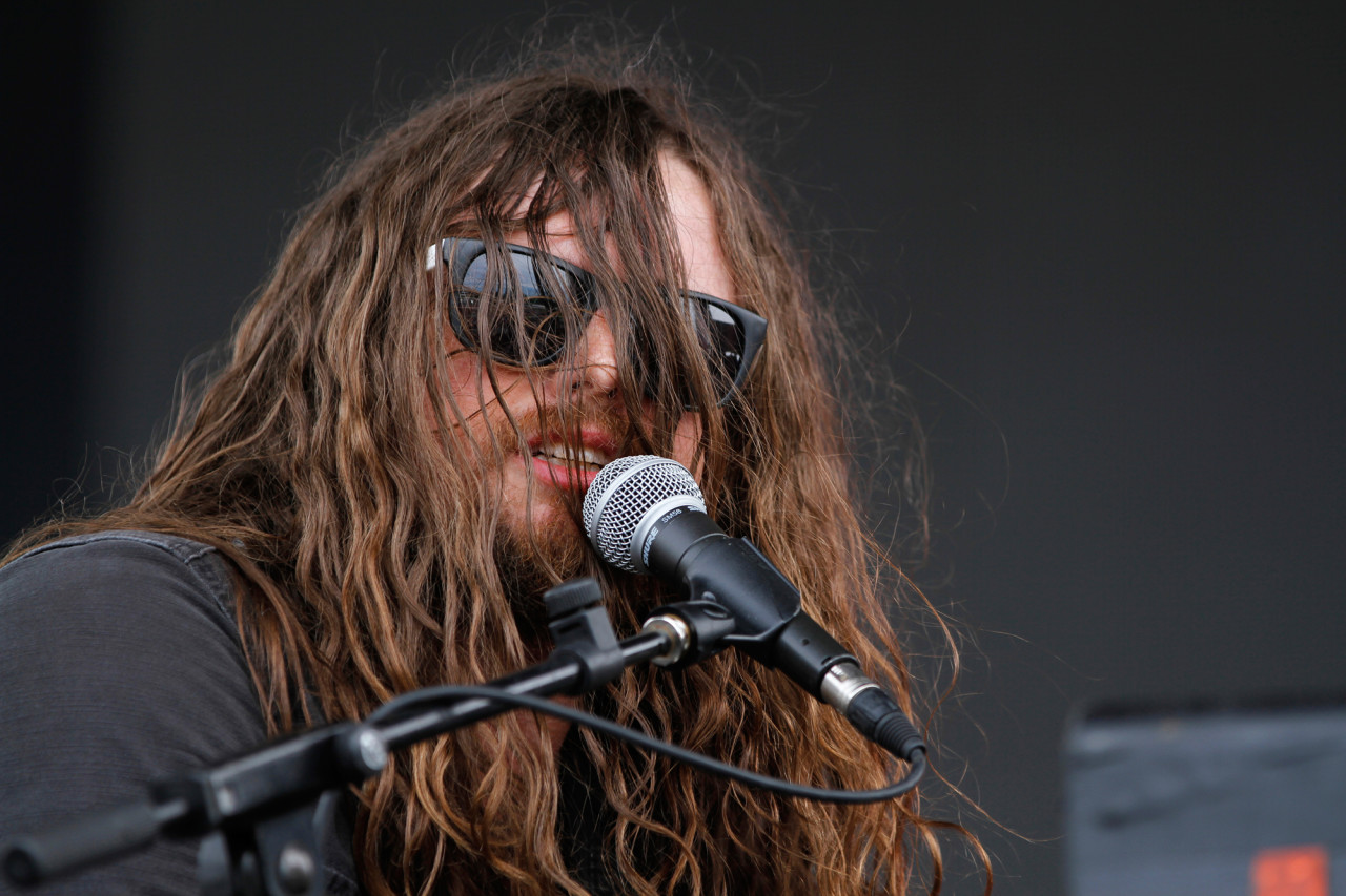 J. Roddy Walton & The Business performs on the Big Apple Stage at Governors Ball on Randall's Island, New York, on June 6, 2015. (© Michael Katzif – Do not use or republish without prior consent.)