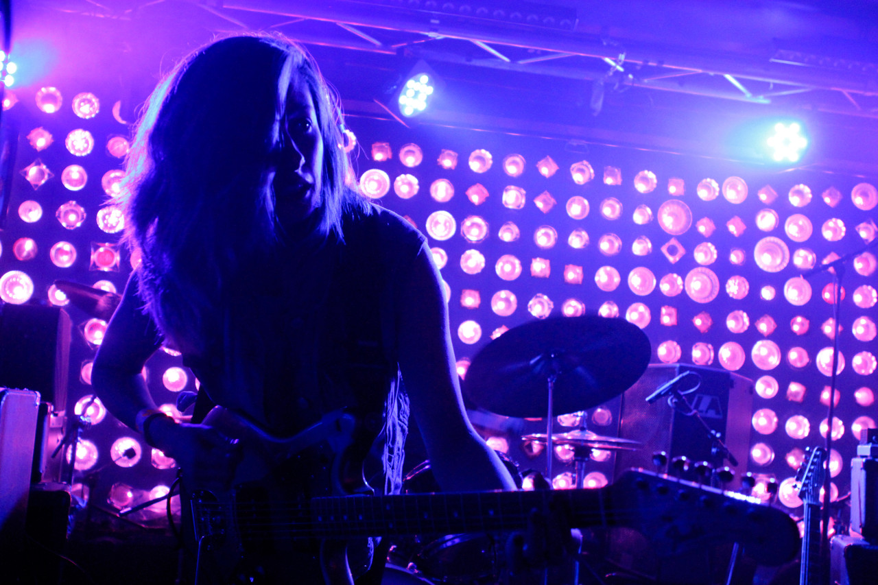 Slothrust plays at Baby's All Right in Brooklyn, NY on April 29, 2015. (© Michael Katzif - Do not use or republish without prior consent.)