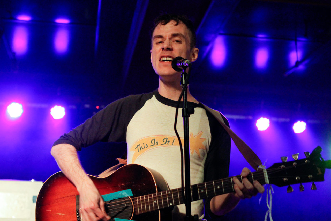 John Congleton and the Nighty Nite plays at The Marlin Room at Webster Hall, in New York, NY on Apr. 28, 2016. (© Michael Katzif - Do not use or republish without prior consent.)