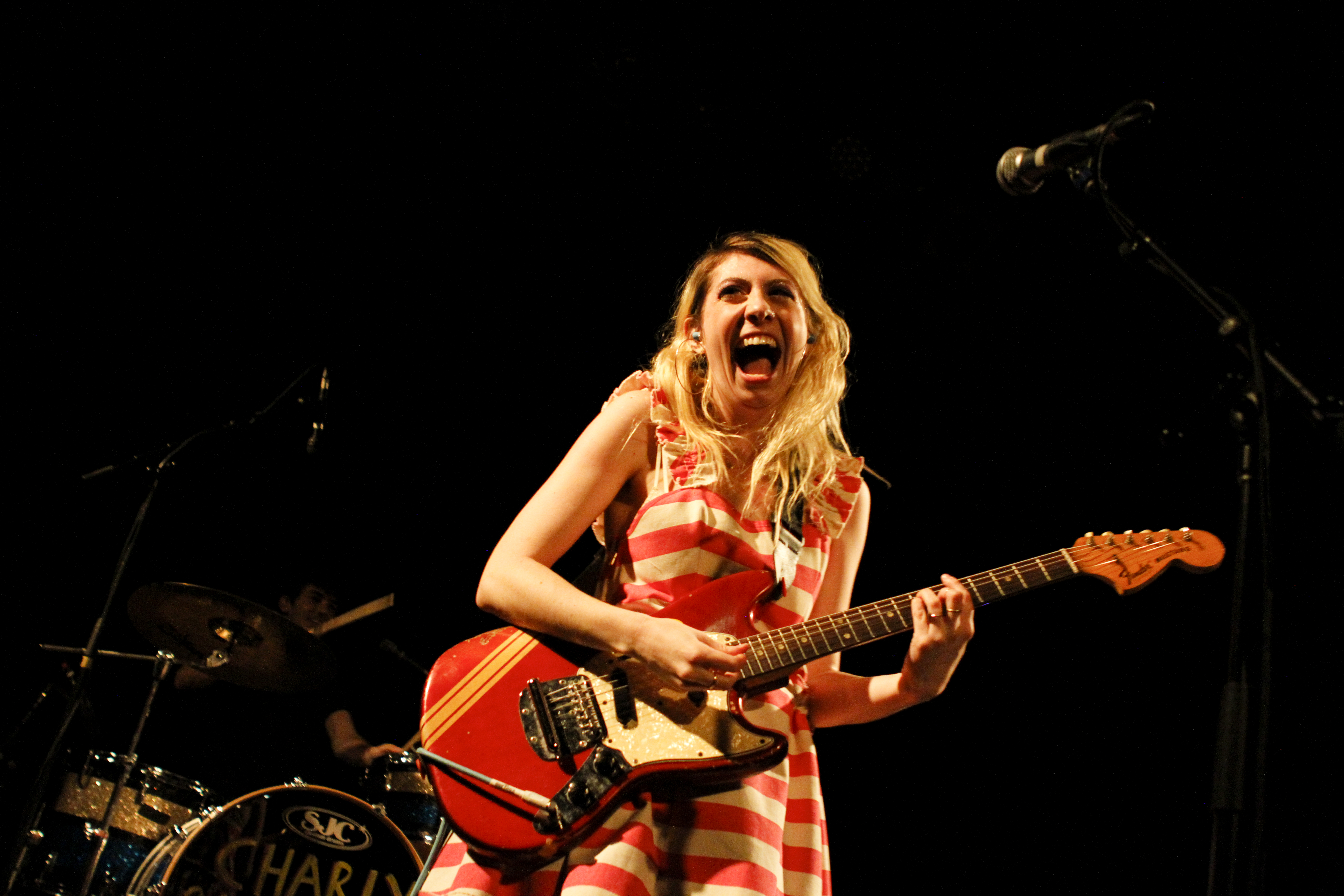 Charly Bliss plays at Music Hall of Williamsburg in Brooklyn, New York on Sept. 28, 2017. (© Michael Katzif - Do not use or republish without prior consent.)