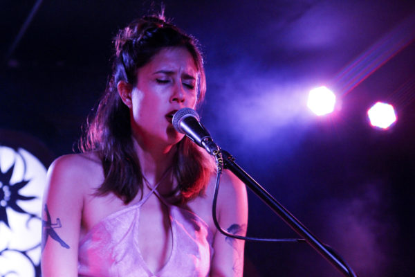 Half Waif plays at Brooklyn Bazaar in Greenpoint, Brooklyn, New York on Feb. 25, 2017. (© Michael Katzif - Do not use or republish without prior consent.)