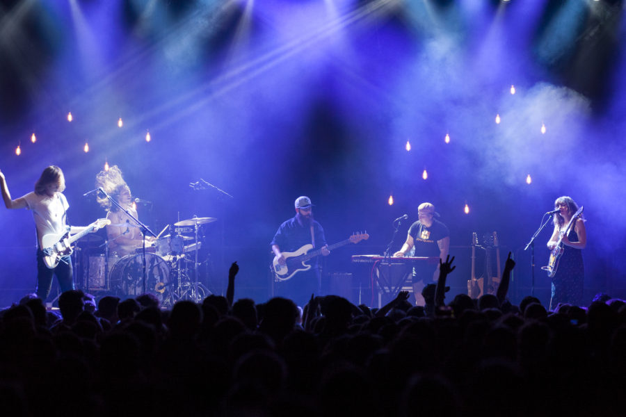 Hop Along plays at Brooklyn Steel in Williamsburg, Brooklyn, New York on May 30, 2018. (© Michael Katzif - Do not use or republish without prior consent.)