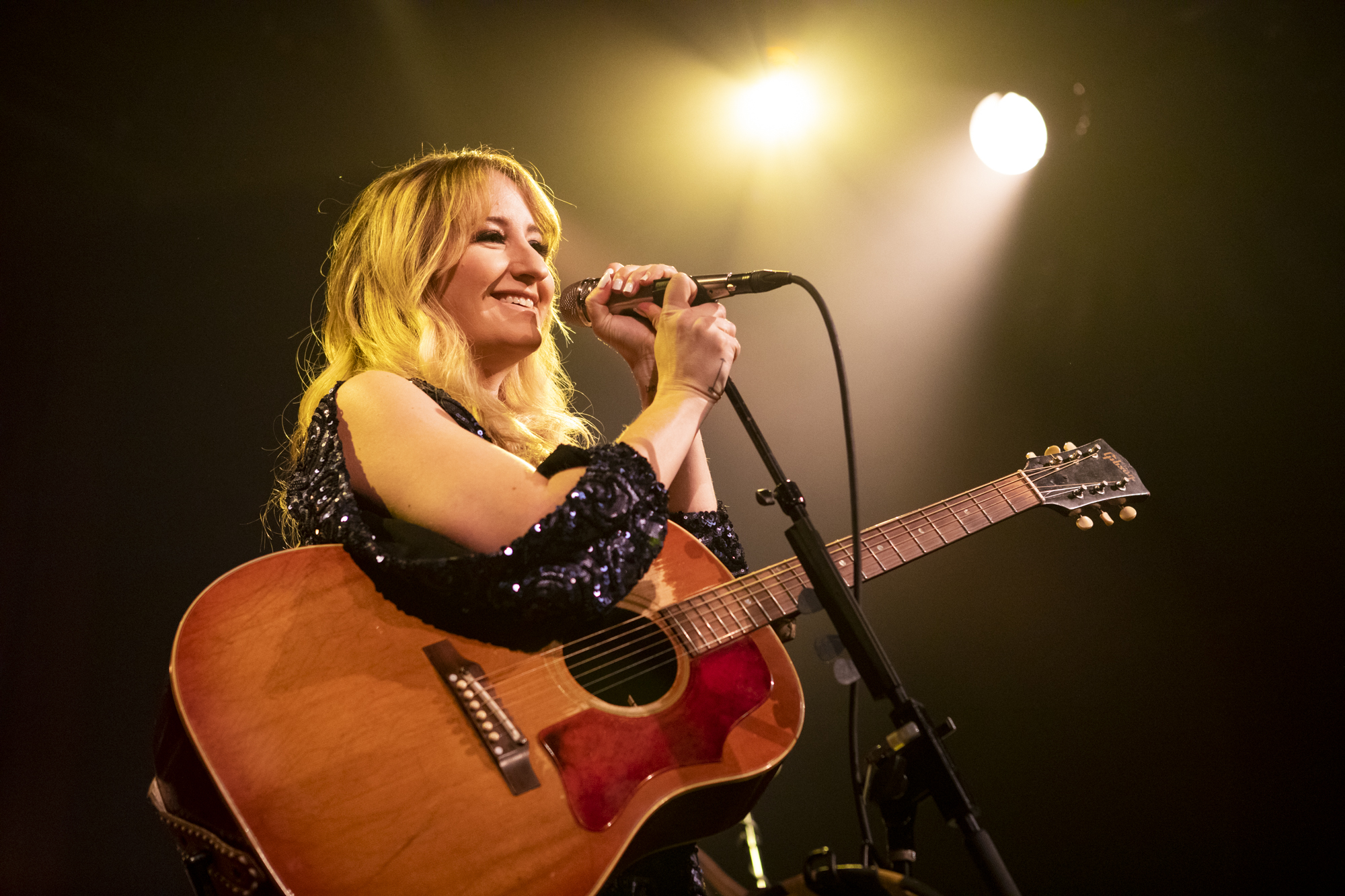 Margo Price plays on New Year's Eve at Music Hall Of Williamsburg in Williamsburg, Brooklyn, New York on Dec. 31, 2018. (© Michael Katzif - Do not use or republish without prior consent.)