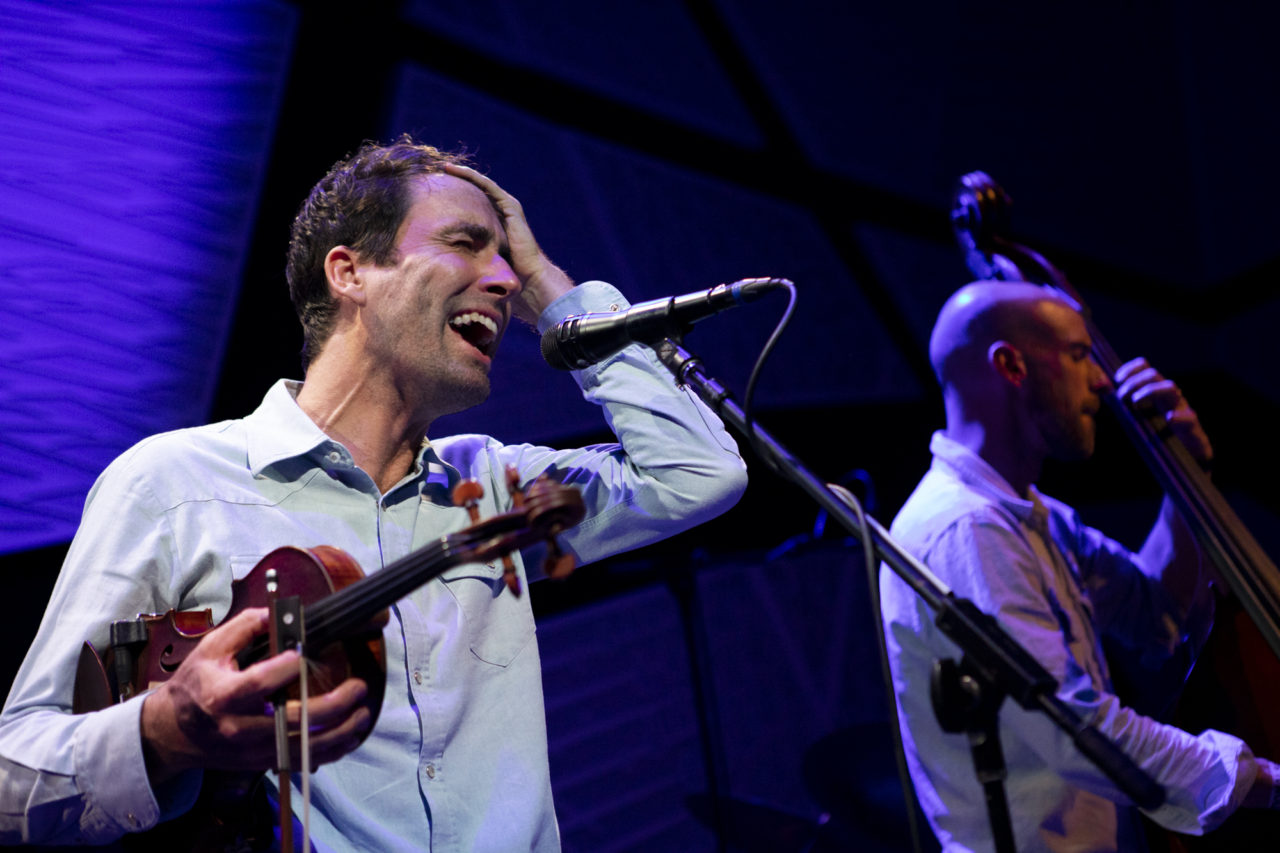 Andrew Bird plays at National Sawdust in Williamsburg, Brooklyn, New York on April 9, 2019. (© Michael Katzif - Do not use or republish without prior consent.)
