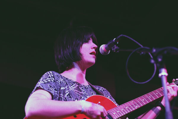 Sharon Van Etten performs at The Red Palace in Washington, D.C. on Apr. 17, 2011. (© Michael Katzif – Do not use or republish without prior consent.)