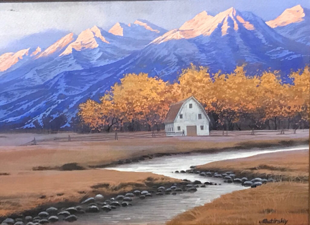 """Autumn In The Rockies - 11.5"""" x 15.75"""""""