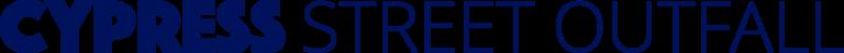 Cypress Street Outfall Logo