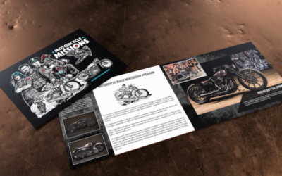 MOTORCYCLE MISSIONS MARKETING PIECES