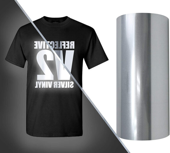 Reflective Heat Transfer Vinyl (Reflective HTV)