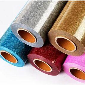 BELY Glitter Flex Heat Press Vinyl