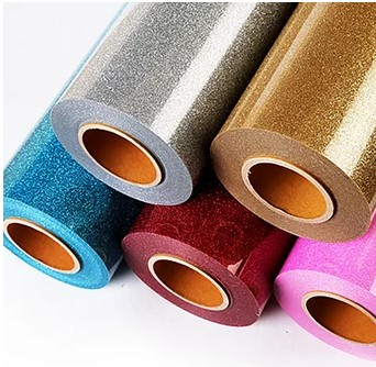 BELY Glitter Flex Heat Press Vinyl