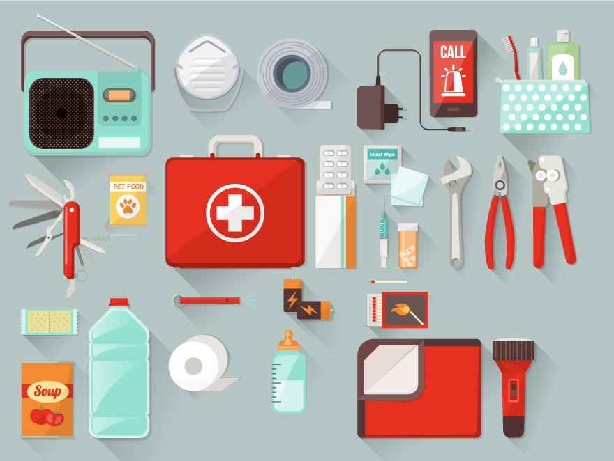 storm emergency kit survival kit