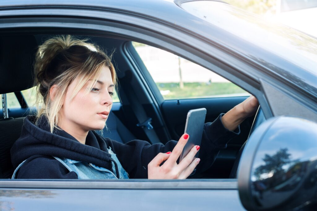 Top Four Reasons Teens Drive Distracted