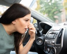 How to remove odors from car