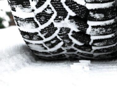 Winter tire air pressure