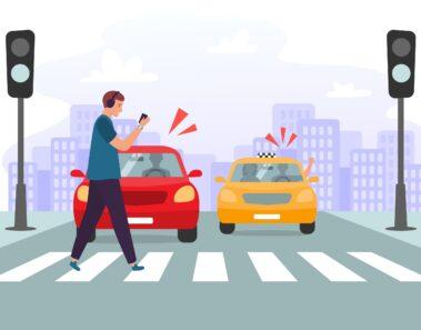 Pedestrian safety tips