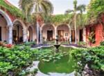 Villa Merida - Fountain Courtyard detail