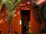 Villa Merida - The Fountain Courtyard detail
