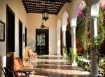 Villa Merida - The Fountain Courtyard room side
