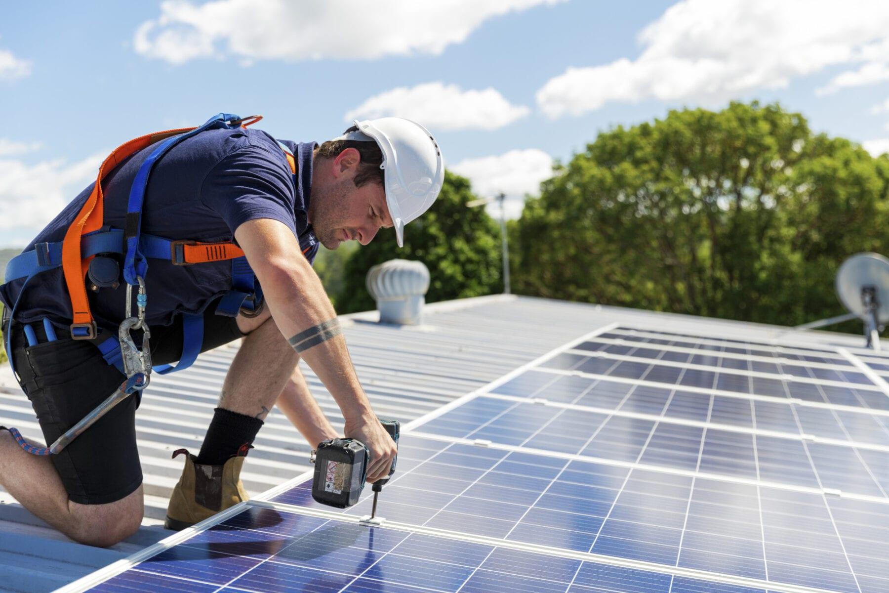solar panel inspection