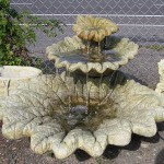 Concrete Fountains and Waterfalls in Portland, Oregon