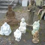 Concrete Asian Statues and Garden Art in Portland, Oregon