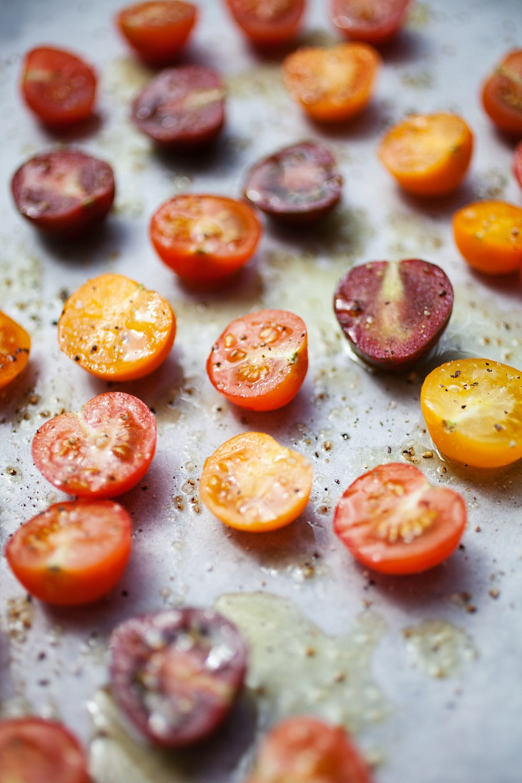 Freezer preserving oven roasted cherry tomatoes can keep the taste of summer in your food   long after snow is on the ground! Even if you don't have a chest freezer, this is easy   and so worth doing! The olive oil will help keep your tomatoes from freezer burning.