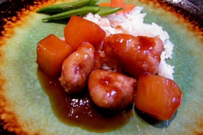 healthier sweet and sour sauce