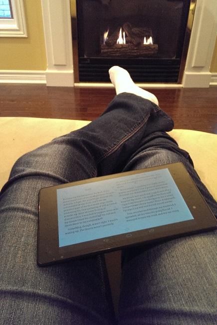 Google Asus Nexus 7 Tablet with Kobo as e-reader
