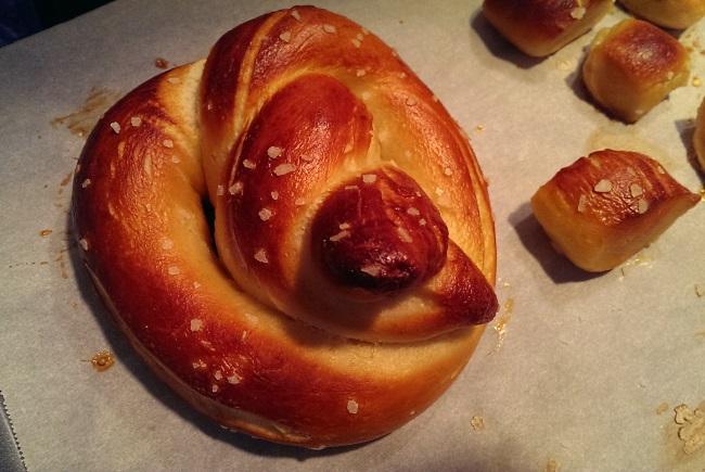 Pretzels and pretzel bites