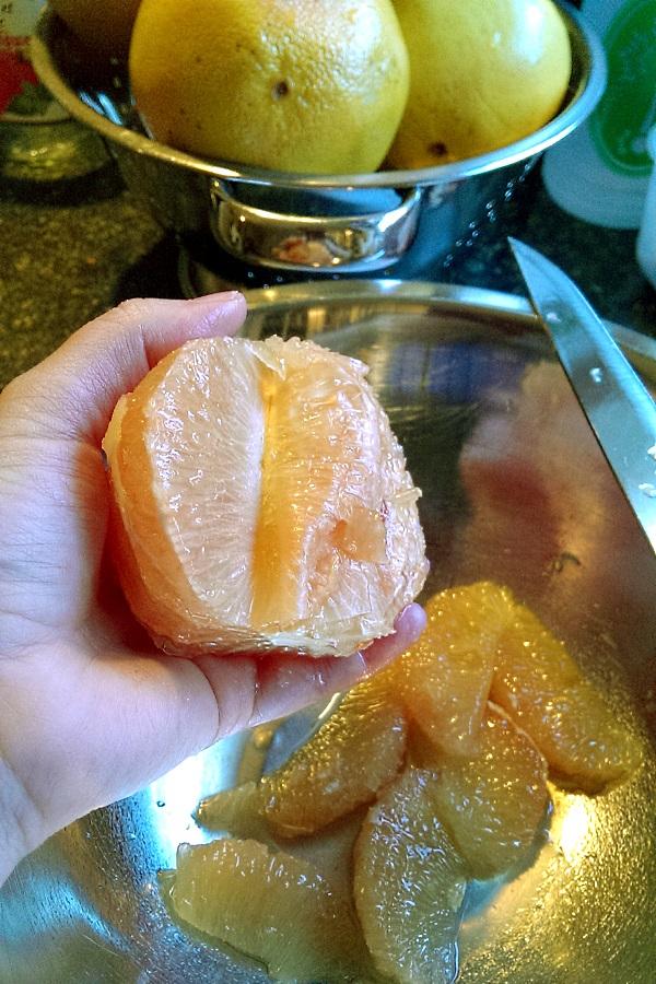 Sectioning Supreme Grapefruit