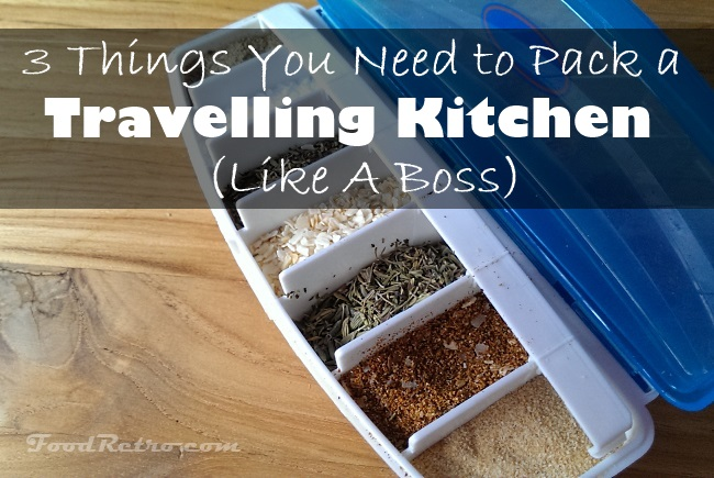 travelling spice kit