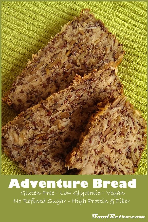 Josey Baker Bread - Adventure Bread - Gluten Free Low Glycmic Vegan No Refined Sugar High Fiber