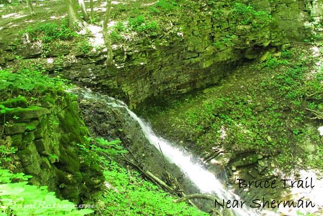 Bruce Trail near Sherman Falls, Hamilton ON