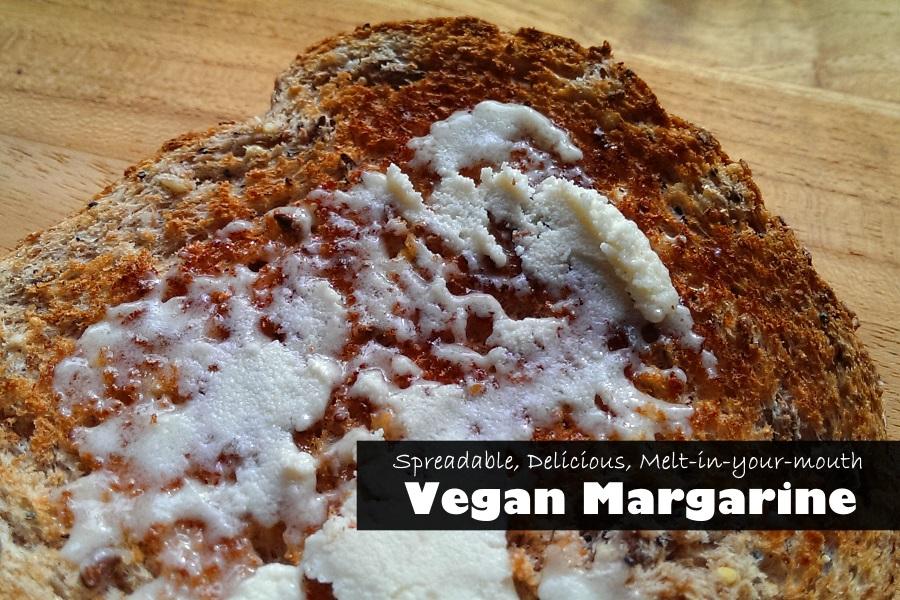 Dairy Free Margarine - Homemade, Vegan
