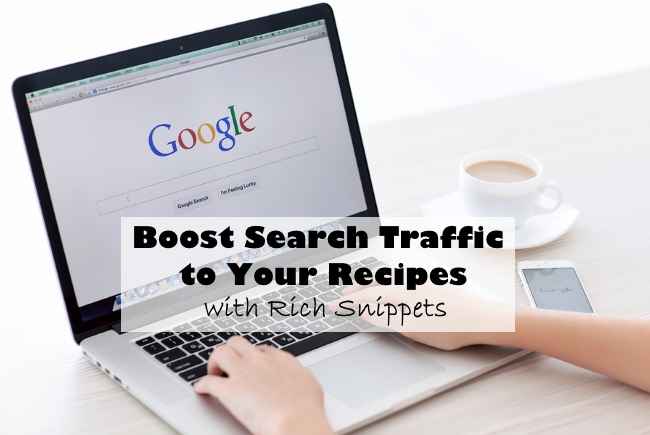 boost search traffic to your recipes with rich snippets