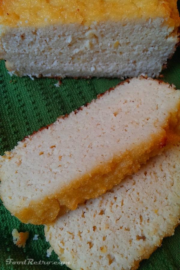 Grapefruit & Coconut Pound Cake - Dairy Free, Gluten Free
