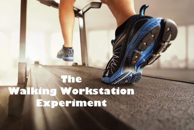 walking workstation experiment