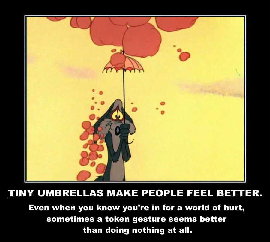 Tiny Umbrellas Make People Feel Better and Other Life Lessons From Looney Tunes