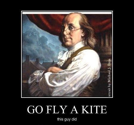 Franklin Kite Meme