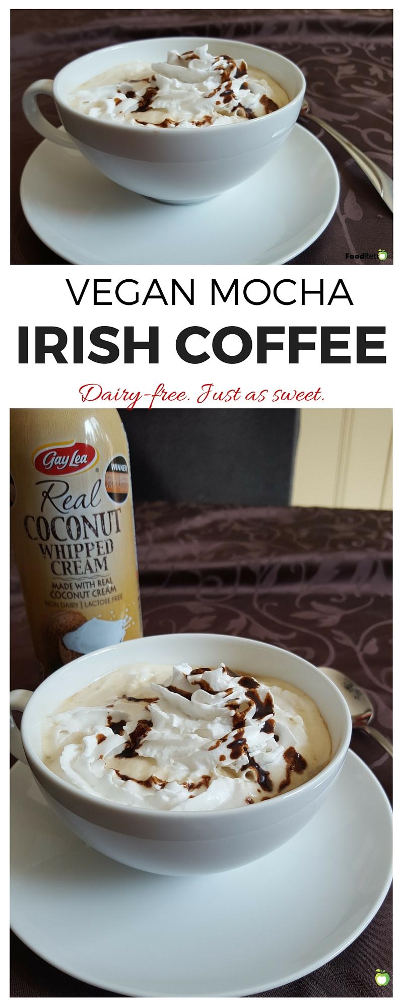 Vegan Mocha Irish Coffee